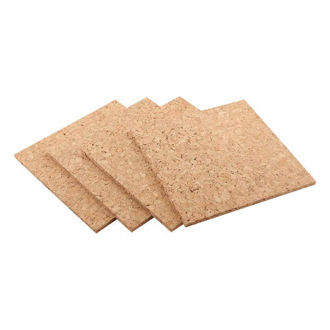 Urban Crafter Cork Square Tiles 15.24 x 15.24 x 5mm 4 Pieces