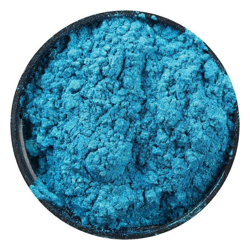Steel Blue The Paper Mill Pearl Powdered Pigment Cyan 21g Pigments