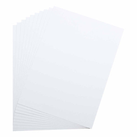 The Paper Mill A4 Textured White Cardstock 216gsm 10 Sheets