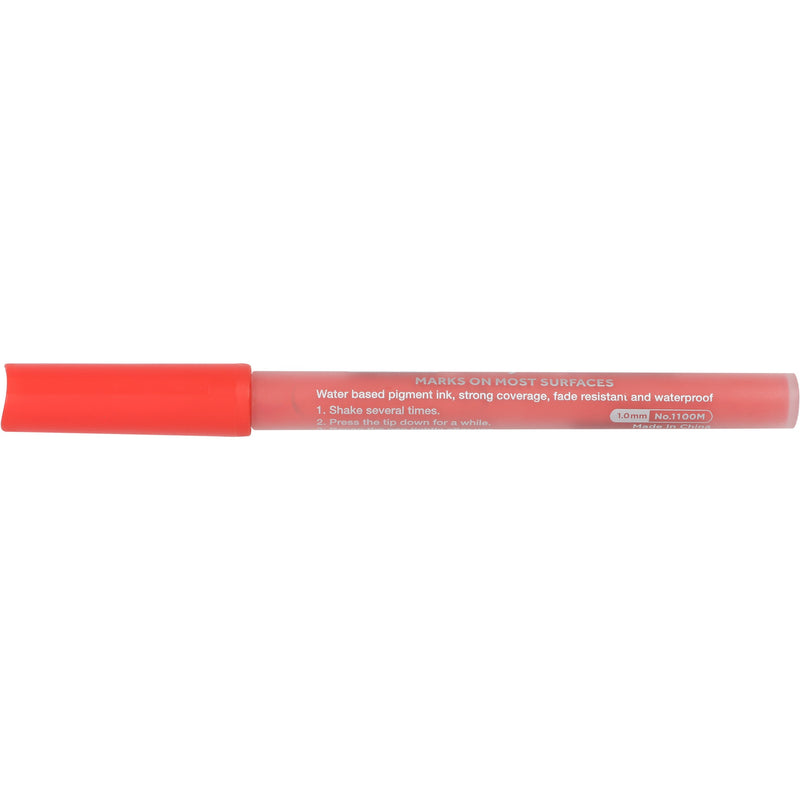 Light Coral The Art Studio Fine Tip Acrylic Painter Pen Deep Red Pens