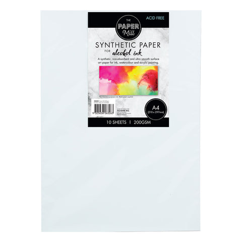 The Paper Mill A4 Synthetic Paper 200gsm 10 Sheets