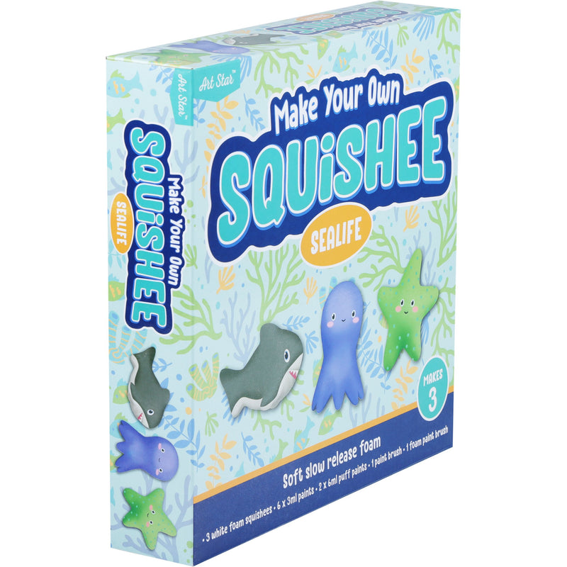 Art Star Make Your Own Squishee Sea Creatures Makes 3