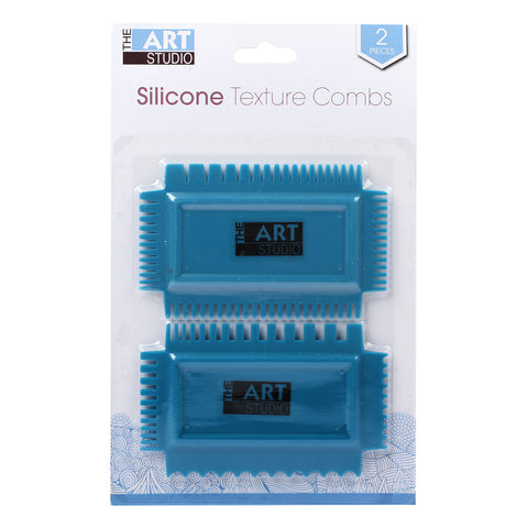 Art Studio Basic 4 Sided Texture Comb 4.5x2.75in
