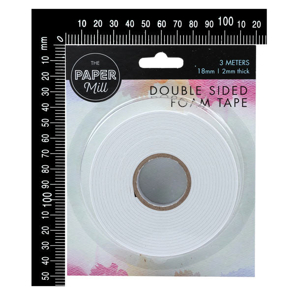 The Paper Mill Double Sided Foam Tape 18mm x 3m
