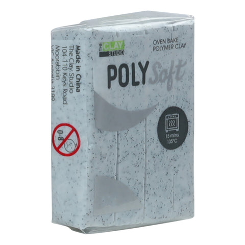 Clay Studio Polymer Clay 57g Grey Granite