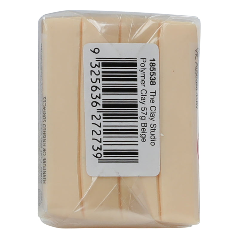 Tan The Clay Studio Polymer Clay Beige 57g Modelling