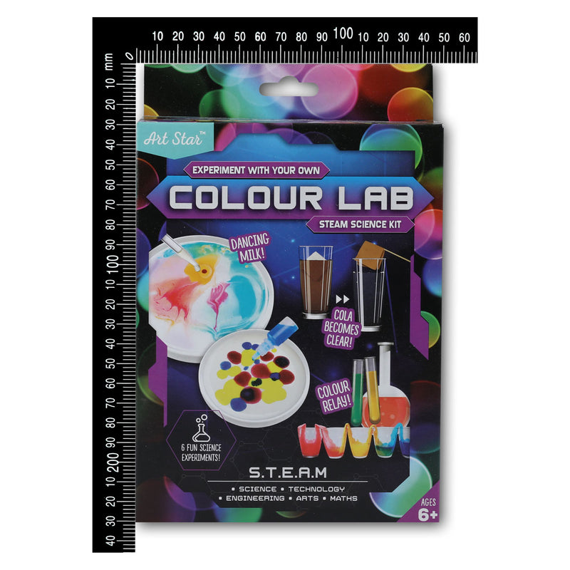 Art Star Experiment With Your Own Colour Lab STEAM Science Kit