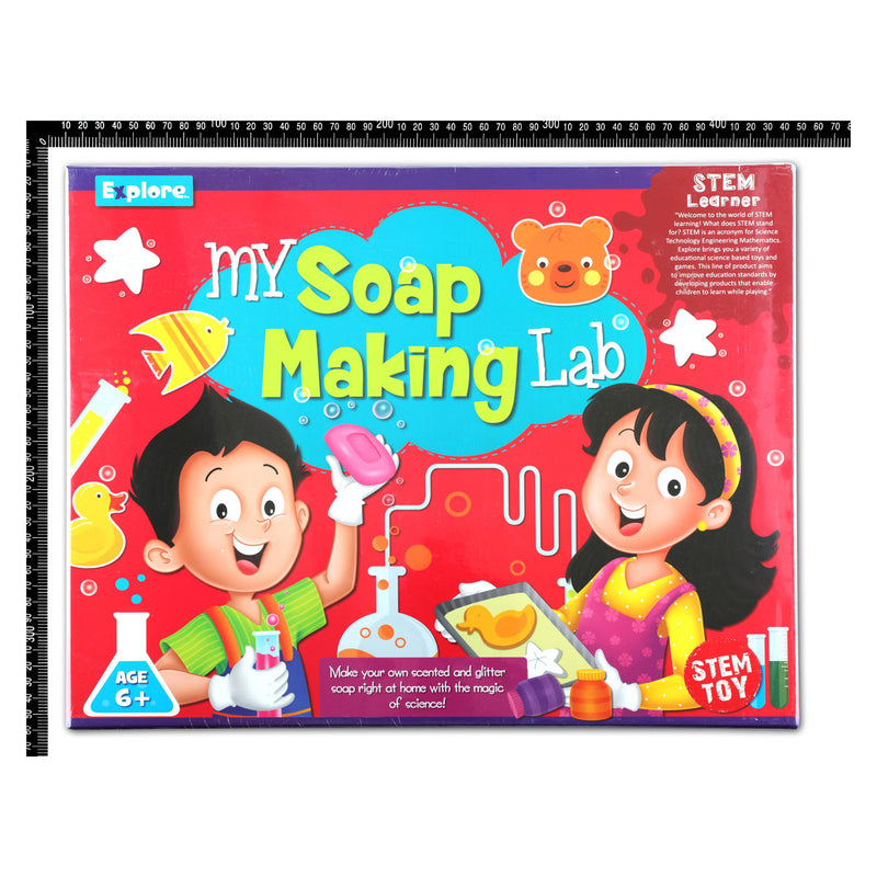 Tomato Explore My Soap Making Lab STEM Kit Steam