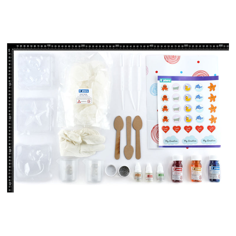 Lavender Explore My Soap Making Lab STEM Kit Steam