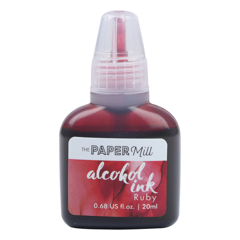 The Paper Mill Alcohol Ink Ruby 20ml