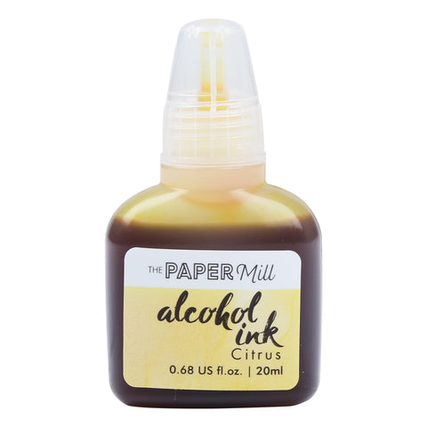 The Paper Mill Alcohol Ink Citrus 20ml