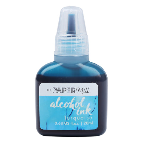 The Paper Mill Alcohol Ink Turquoise 20ml