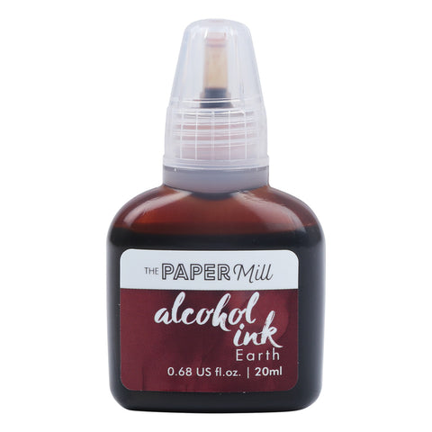 The Paper Mill Alcohol Ink Earth 20ml