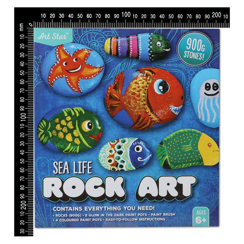 Art Star Sea Life Rock Art Kit