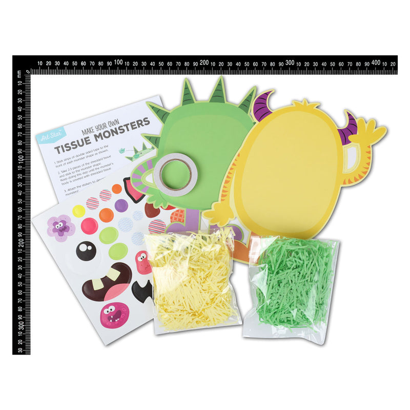 Art Star Make Your Own Tissue Monsters Activity Kit