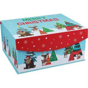 Firebrick Artstar Deluxe Night Before Xmas Box Christmas