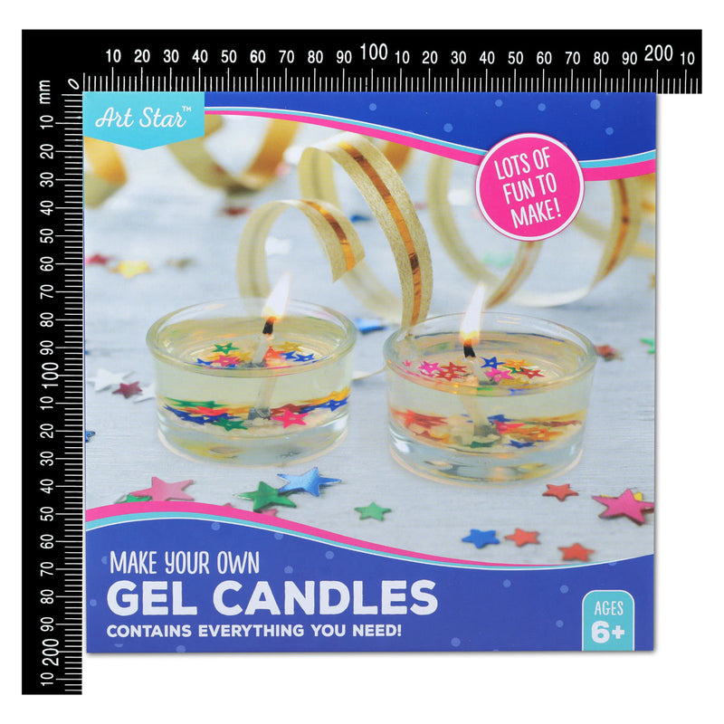 Art Star Make Your Own Gel Candles Activity Kit