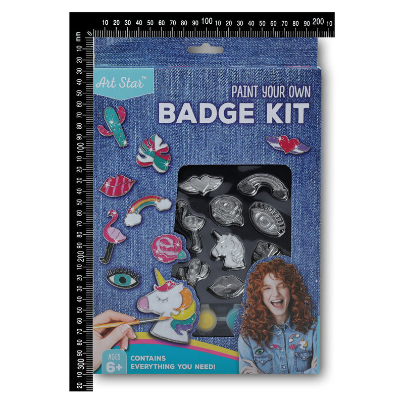 Art Star Decorate Your Own Badge Kit
