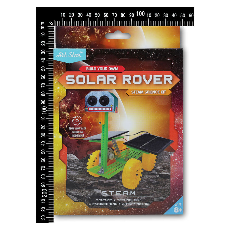 Goldenrod Art Star Build Your Own Solar Rover STEAM Science Kit Steam