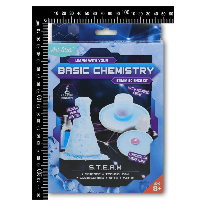 Art Star Learn with Your Basic Chemistry STEAM Science Kit