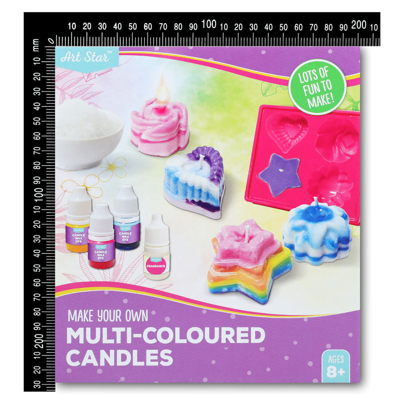 Art Star Make Your Own Candles Kit Multi-Coloured