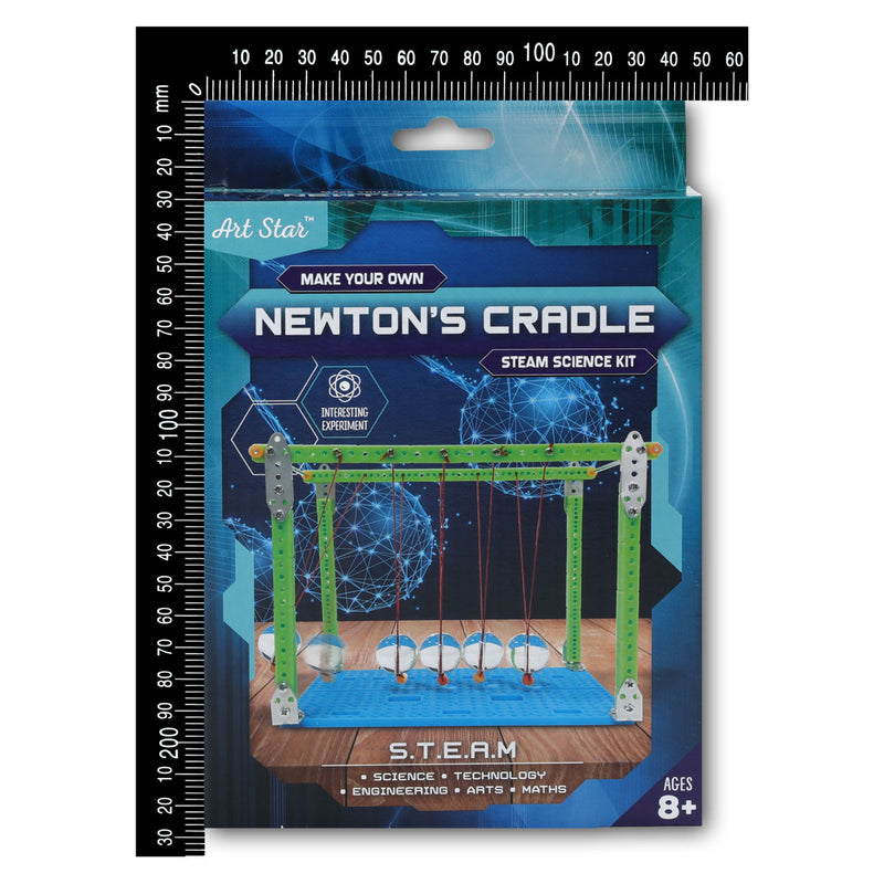 Dark Slate Gray Art Star Make Your Own Newton's Cradle STEAM Science Kit Steam