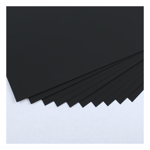 The Paper Mill Black Synth Paper for Alcohol Ink 300gsm A4 10 Sheets