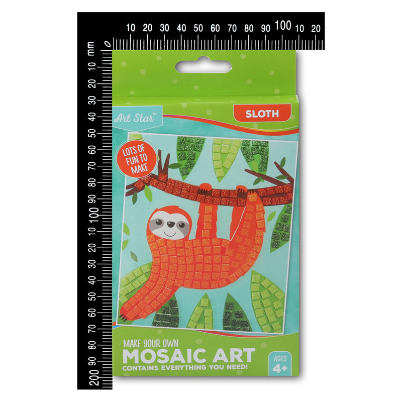 Art Star Make Your Own Foam Mosaic Sloth