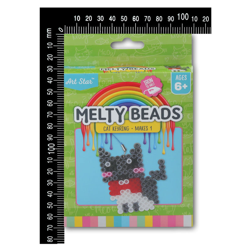 Art Star Melty Beads Cat Keyring Kit Makes 1