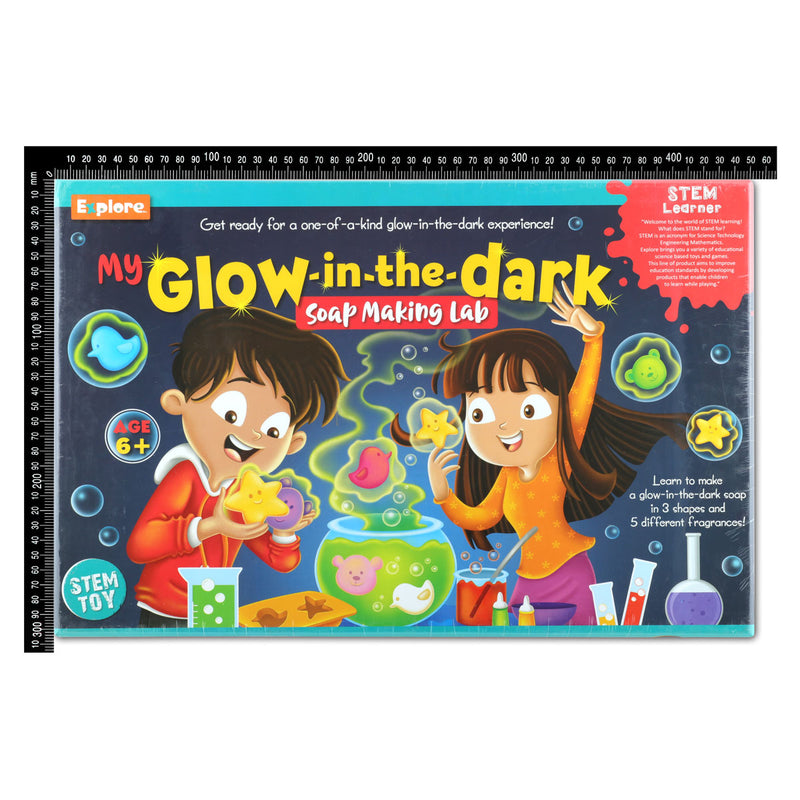 Explore Stem My Glow in the Dark Soap Making Lab