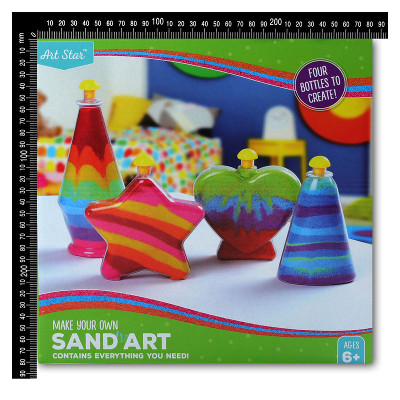 Dark Slate Blue Art Star Make Your Own Sand Art Kit Makes 4 Kids Kits