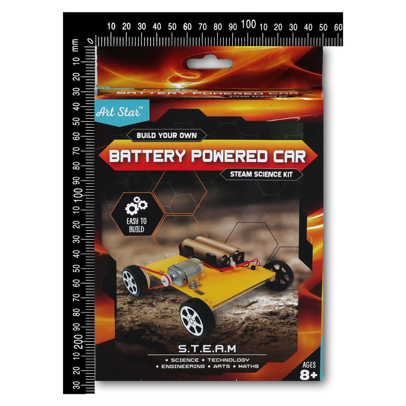 Art Star Build Your Own Battery Powered Car STEAM Science Kit