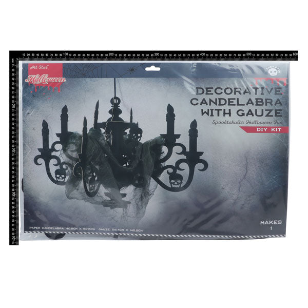 Art Star Decorative Candelabra with Gauze Makes 1 40 x 59cm