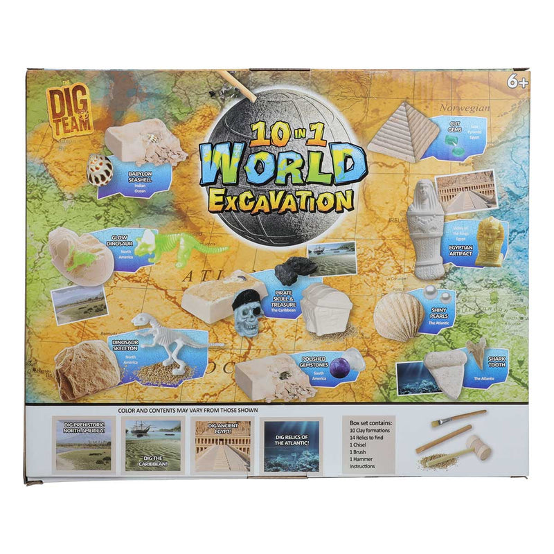 World Excavation 10 in 1 Dig Kit