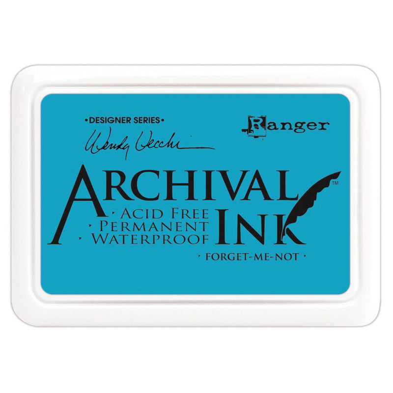 Light Sea Green Wendy Vecchi Archival Ink Pad Forget Me Not Stamping