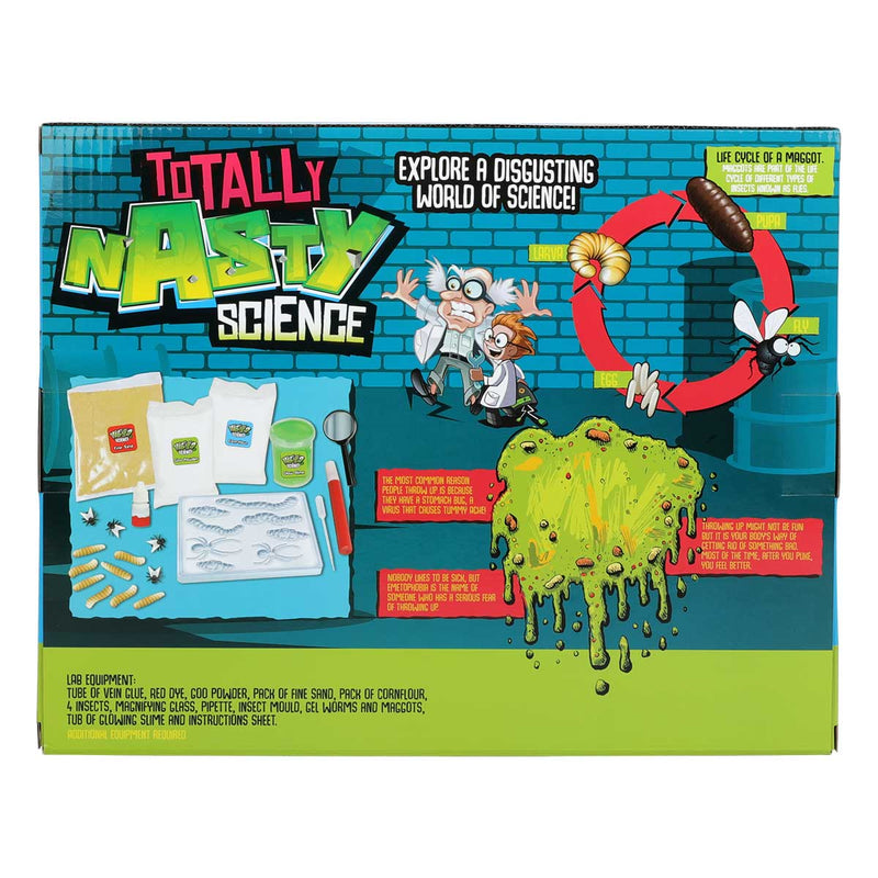 Yellow Green Weird Science Totally Nasty Science Kit Kids Kits
