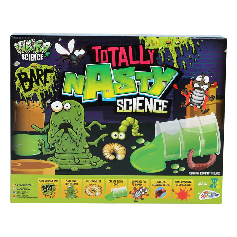 Medium Sea Green Weird Science Totally Nasty Science Kit Kids Kits