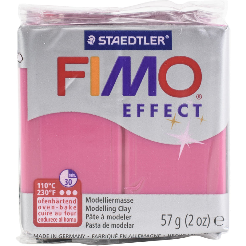 Pale Violet Red Fimo Effect Polymer Clay 56.7g-Ruby Quartz Modelling