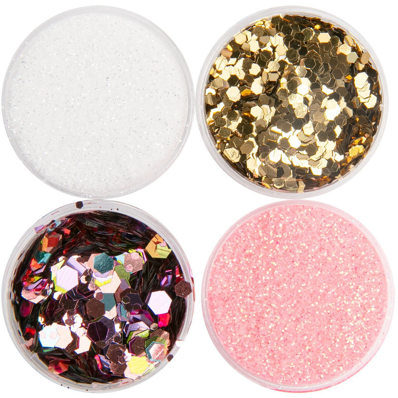 Light Pink American Crafts Color Pour Resin Mix-Ins Warm - White, Pink, Gold and Light Pink Resin
