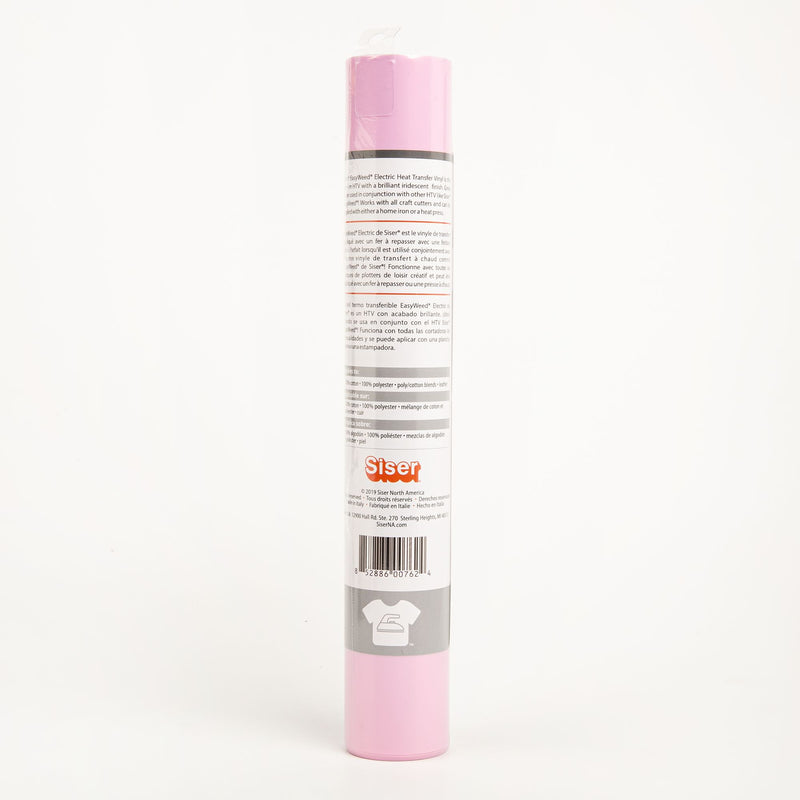 Antique White Siser EasyWeed Electric Heat Transfer Vinyl   30x91cm Roll - Pink Craft Vinyl