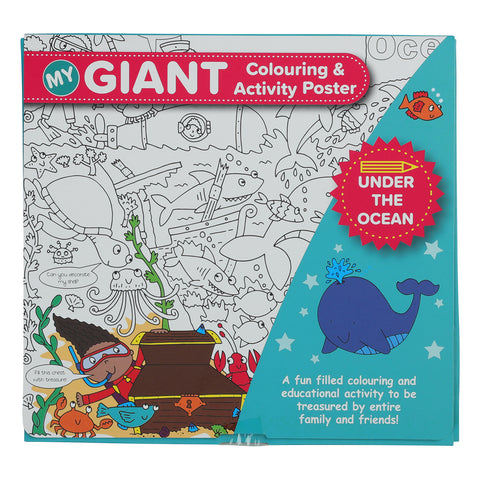 Giant Colouring Poster 1 Poster - Random Selection Will Be Made