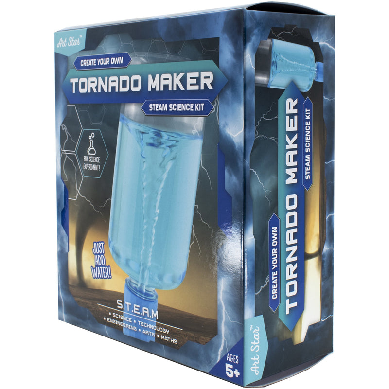 Medium Aquamarine Art Star Create Your Own Tornado Maker STEAM Science Kit Kids Kits