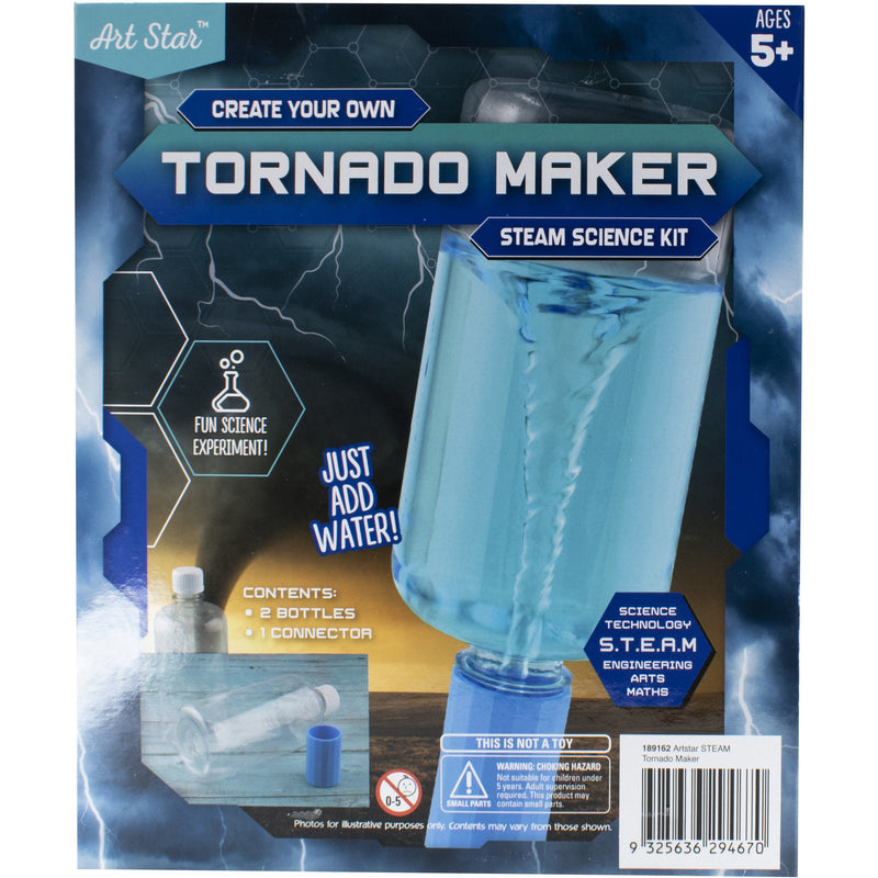 Cadet Blue Art Star Create Your Own Tornado Maker STEAM Science Kit Kids Kits