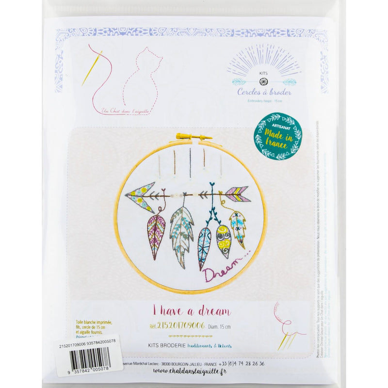 Bisque I have  a Dream - Embroidery Kit 15cm Needlework