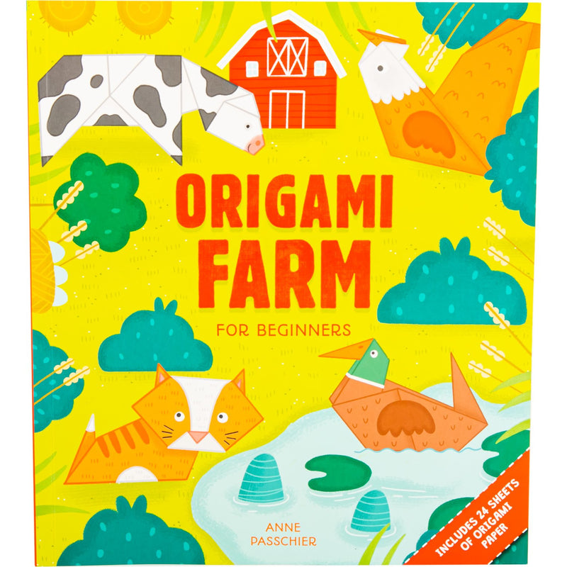 Yellow Origami Farm For Beginners Origami