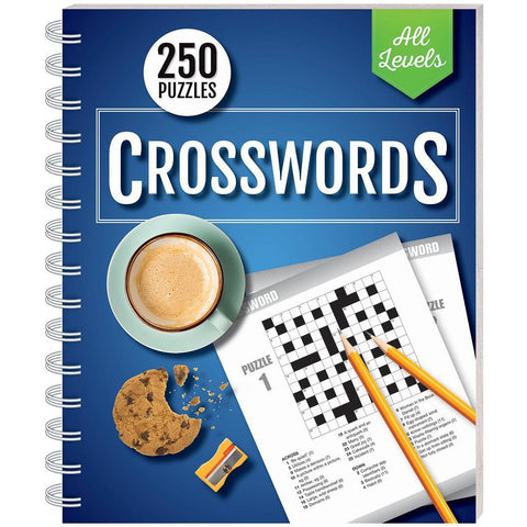 250 Puzzles: Crosswords All Levels (spiral bound)