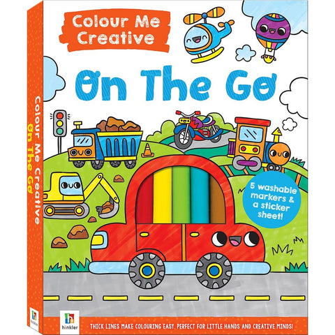 Colour Me Creative: On the Go