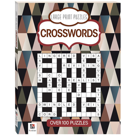 Large Print Prestige Puzzles Crossword