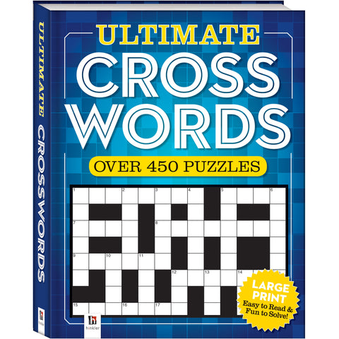 Ultimate Puzzle Book: Crossword