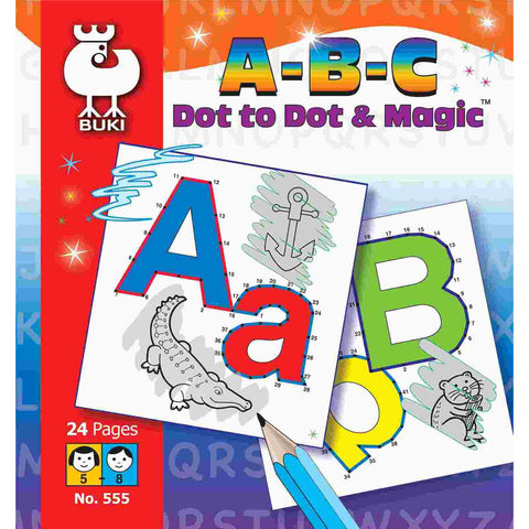 ABC Dot to Dot - Magic Pictures